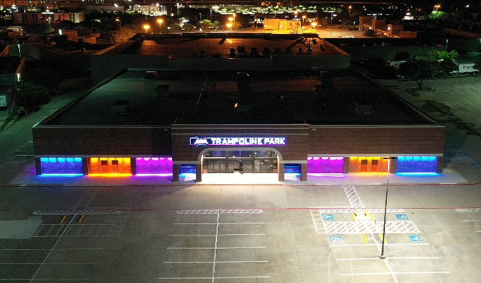 Altitude Jump Park in Fort Worth, Texas