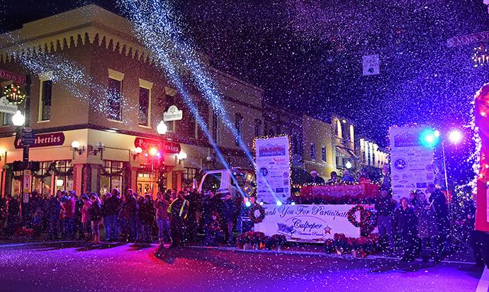 Culpeper Christmas Parade