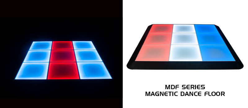 ADJ Magnetic Dance Floor Photo