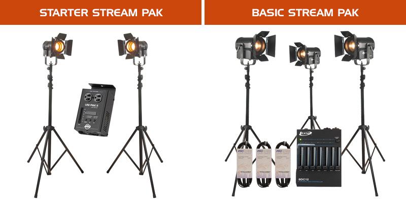 Starter Stream PAK and Basic Stream PAK