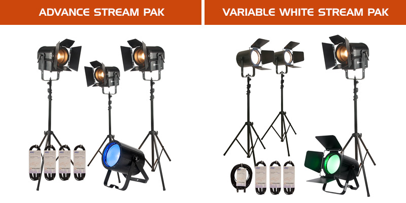 Advance Stream PAK and Variable White Stream PAK