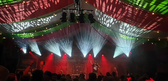 Zwarte Cross Festival Tiroler Tent