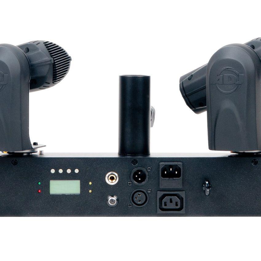 ADJ Event Bar Q4 LED Pinspot System - 4 Quad Color LED Scanning Heads