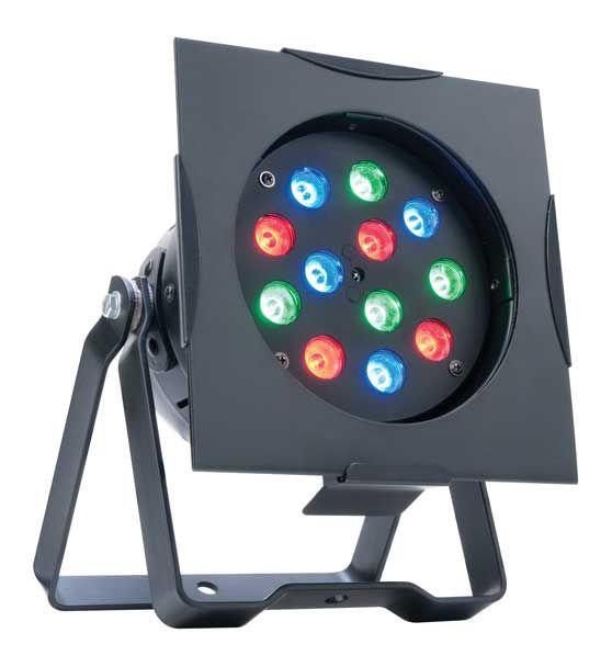 ADJ PRO38B LED RC - High Output LED Black Par 38 Can - American DJ
