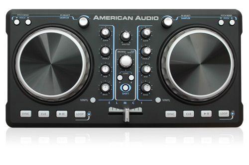 ELMC1 Portable 2-Channel DJ Midi Controller From American DJ - Top ...