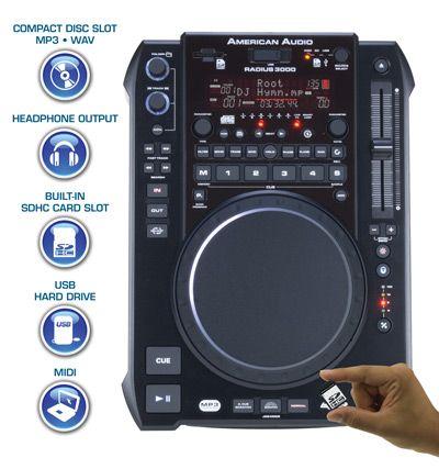 Radius 3000 - Media Player from American DJ