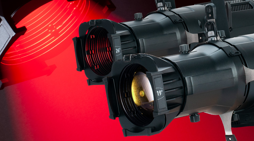 "ADJ's Professional LED-Powered ""Next Generation"" Ellipsoidals"