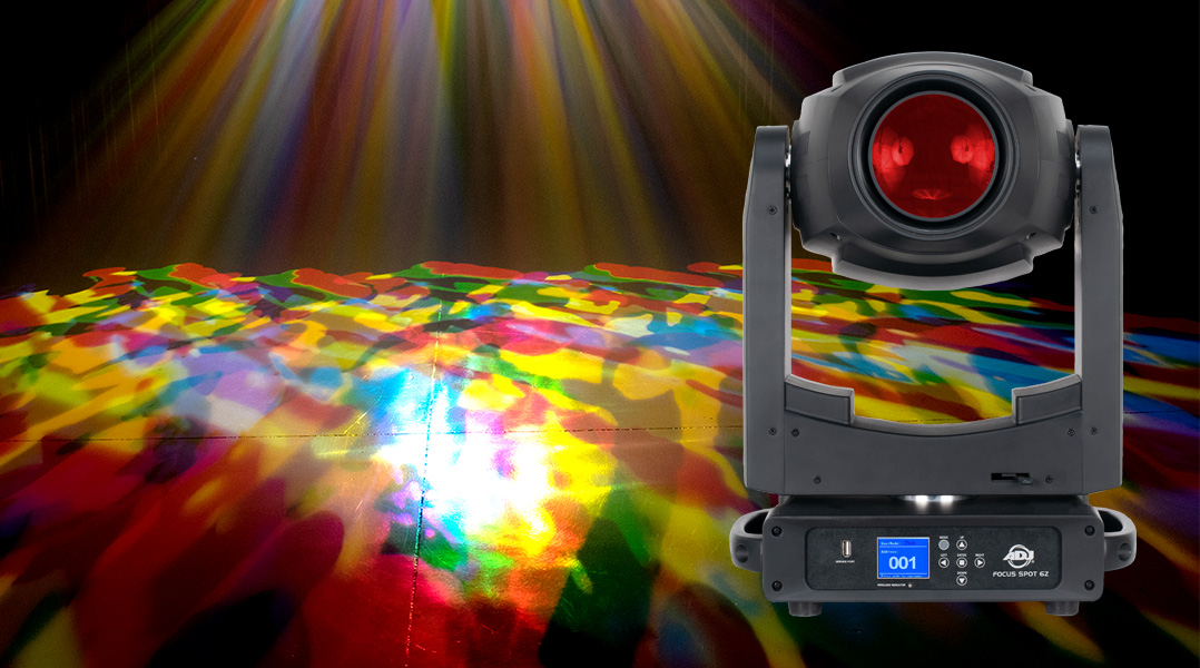 New Flagship 300W LED Moving Head Spot Added To ADJ Focus Series