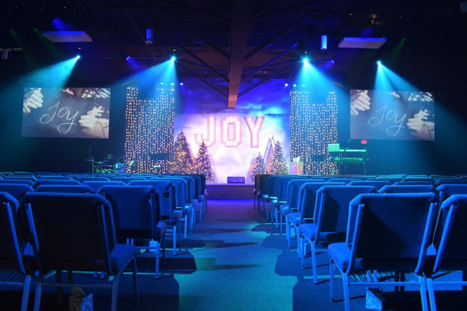 Adj Lighting Helps Reinvigorate Church