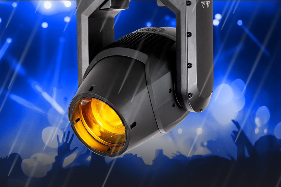 Now Shipping: ADJ's Ground-Breaking Hydro Beam X2 IP65-Rated Moving Head