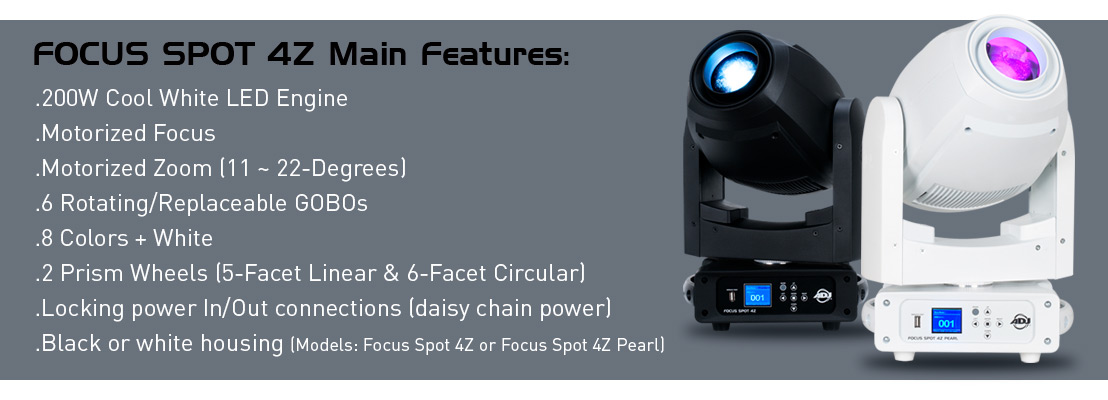 Focus Spot 4Z Spotlight Photo